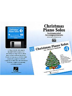 Hal Leonard Student Piano Library: Christmas Piano Solos Level 1 (GM Disk) CD-Roms / DVD-Roms | Piano
