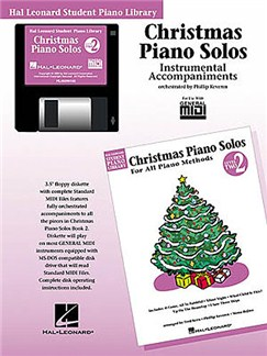 Hal Leonard Student Piano Library: Christmas Piano Solos Level 2 (GM Disk) CD-Roms / DVD-Roms | Piano