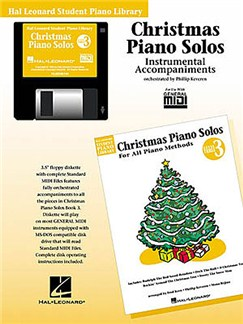 Hal Leonard Student Piano Library: Christmas Piano Solos Level 3 (GM Disk) CD-Roms / DVD-Roms | Piano