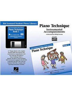 Hal Leonard Student Piano Library: Piano Technique Book 1 (GM Disk) CD-Roms / DVD-Roms | Piano