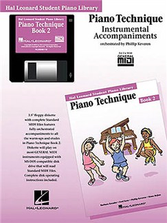 Hal Leonard Student Piano Library: Piano Technique Book 2 (GM Disk) CD-Roms / DVD-Roms | Piano