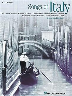 Songs Of Italy (Easy Piano) Books | Piano