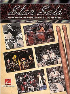 Star Sets Drum Kits Of The Great Drummers Books | Drums