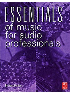 Essentials Of Music For Audio Professionals Books and CDs |