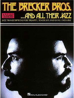 The Brecker Bros... And All Their Jazz (Artist Transcriptions) Books | Jazz Band, Ensemble