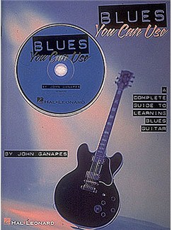 Blues You Can Use Books and CDs | Guitar Tab, with chord symbols