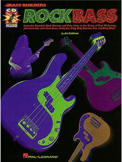 Bass Builders: Rock Bass Books and CDs | Bass Guitar Tab, with chord symbols