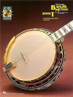 Hal Leonard Banjo Method Book One Books and CDs | Banjo Tab (with Chord Symbols)