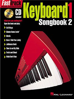 Fast Track: Keyboard 1 - Songbook Two Books and CDs   Keyboard