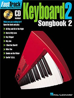 Fast Track: Keyboard 2 - Songbook Two Books and CDs | Keyboard