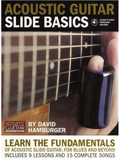 Acoustic Guitar: Slide Basics Books and Digital Audio | Guitar Tab, with chord symbols