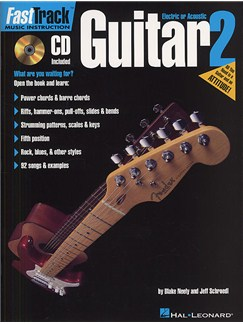 Fast Track: Guitar - Book Two Books and CDs | Guitar Tab, with chord symbols
