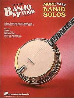 Hal Leonard Banjo Method: More Easy Banjo Solos Books | Banjo