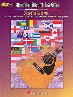 International Songs For Easy Guitar - 36 Songs That Span The Globe Books | Guitar Tab, with chord symbols