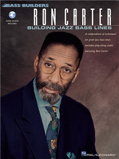 Ron Carter: Building Jazz Bass Lines (Book/Online Audio) Books and Digital Audio | Double Bass