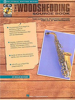 The Woodshedding Source Book: E Flat Instruments Edition Books and CDs | E Flat Instruments, with chord symbols