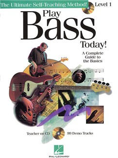 Play Bass Today! Level 1 Books and CDs | Bass Guitar