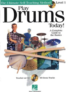 Play Drums Today! Level 1 Books and CDs | Drums