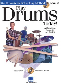 Play Drums Today! Level 2 Books and CDs | Drums