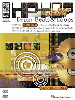 Hip-Hop and Rap Drum Beats and Loops Books, CD-Roms / DVD-Roms and CDs | Drums
