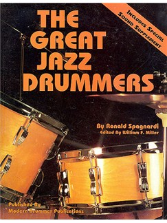 The Great Jazz Drummers Books |
