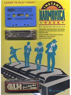Instant Harmonica Pack Books and Instruments | Harmonica