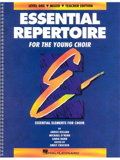 Essential Repertoire For The Young Choir Level 1 Mixed Teacher's Book Books | Soprano, Alto, Tenor, Bass