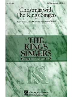 Christmas With The King's Singers Books | Soprano, Alto, Tenor, Bass