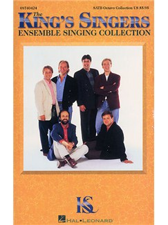 The King's Singers Ensemble Singing Collection Books | Soprano, Alto, Tenor, Bass