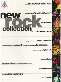 New Rock Collection Books | Guitar Tab