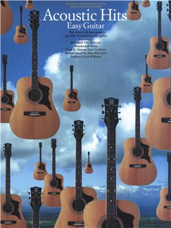 Acoustic Hits Easy Guitar Books | Guitar Tab, with chord symbols