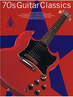 70s Guitar Classics: Guitar Recorded Versions Books | Guitar Tab, with chord symbols