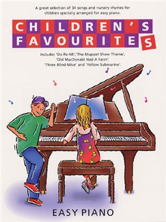 Children's Favourites Easy Piano Books | Piano