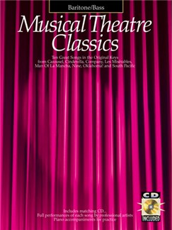 Musical Theatre Classics Baritone/Bass Books and CDs | Baritone Voice, Bass Voice