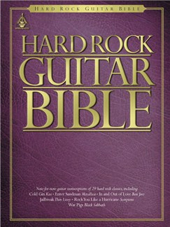 Hard Rock Guitar Bible Books | Guitar Tab, with chord boxes