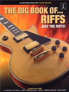 The Big Book Of Riffs Books | Guitar Tab with Chord Symbols