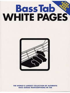Bass Tab White Pages Books | Bass Guitar