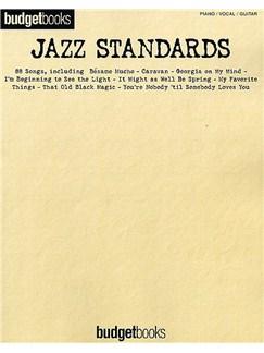 Budgetbooks: Jazz Standards Books | Piano, Vocal & Guitar