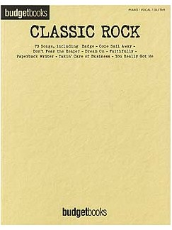 Budgetbooks: Classic Rock Books | Piano, Vocal & Guitar (with Chord Symbols)