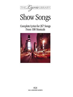 The Lyric Library: Show Songs Books | Lyrics