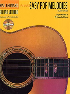 Hal Leonard Guitar Method: More Easy Pop Melodies (With CD) Books and CDs | Guitar