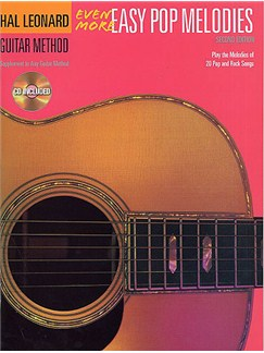 Hal Leonard Guitar Method: Even More Easy Pop Melodies (With CD) Books and CDs   Guitar