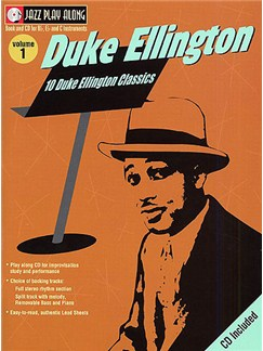 Jazz Play Along: Volume 1 - Duke Ellington Books and CDs | B Flat Instruments, C Instruments, E Flat Instruments