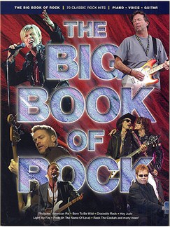 The Big Book Of Rock Books | Piano, Vocal & Guitar (with Chord Boxes)