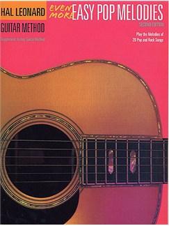 Hal Leonard Guitar Method: Even More Easy Pop Melodies Books | Guitar