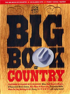 The Big Book Of Country Books | Piano, Vocal & Guitar (with Chord Boxes)
