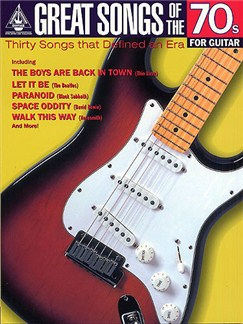 Great Songs Of The 70s For Guitar: Guitar Recorded Versions Books | Guitar Tab