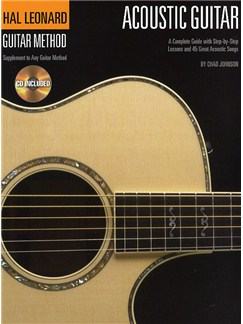Hal Leonard Guitar Method: Acoustic Guitar (Book And CD) Books and CDs | Guitar