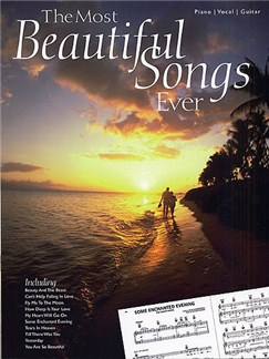 The Most Beautiful Songs Ever Books | Piano, Vocal & Guitar (with Chord Boxes)