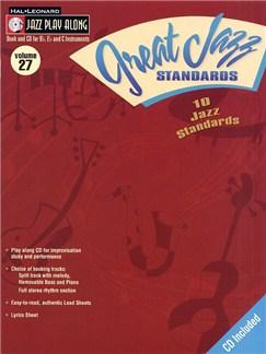 Jazz Play Along: Volume 27 - Great Jazz Standards Books and CDs   B Flat Instruments, C Instruments, E Flat Instruments